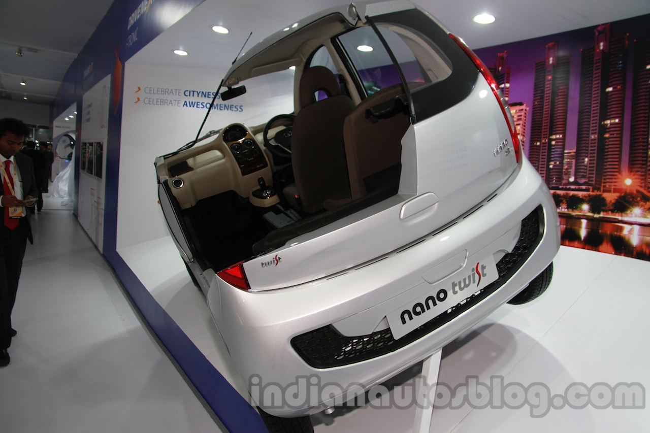 Tata Nano Twist F-Tronic Concept rear three quarters