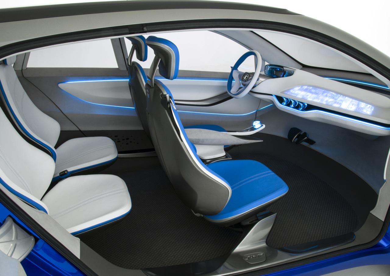 Tata Nexon Concept interior official image