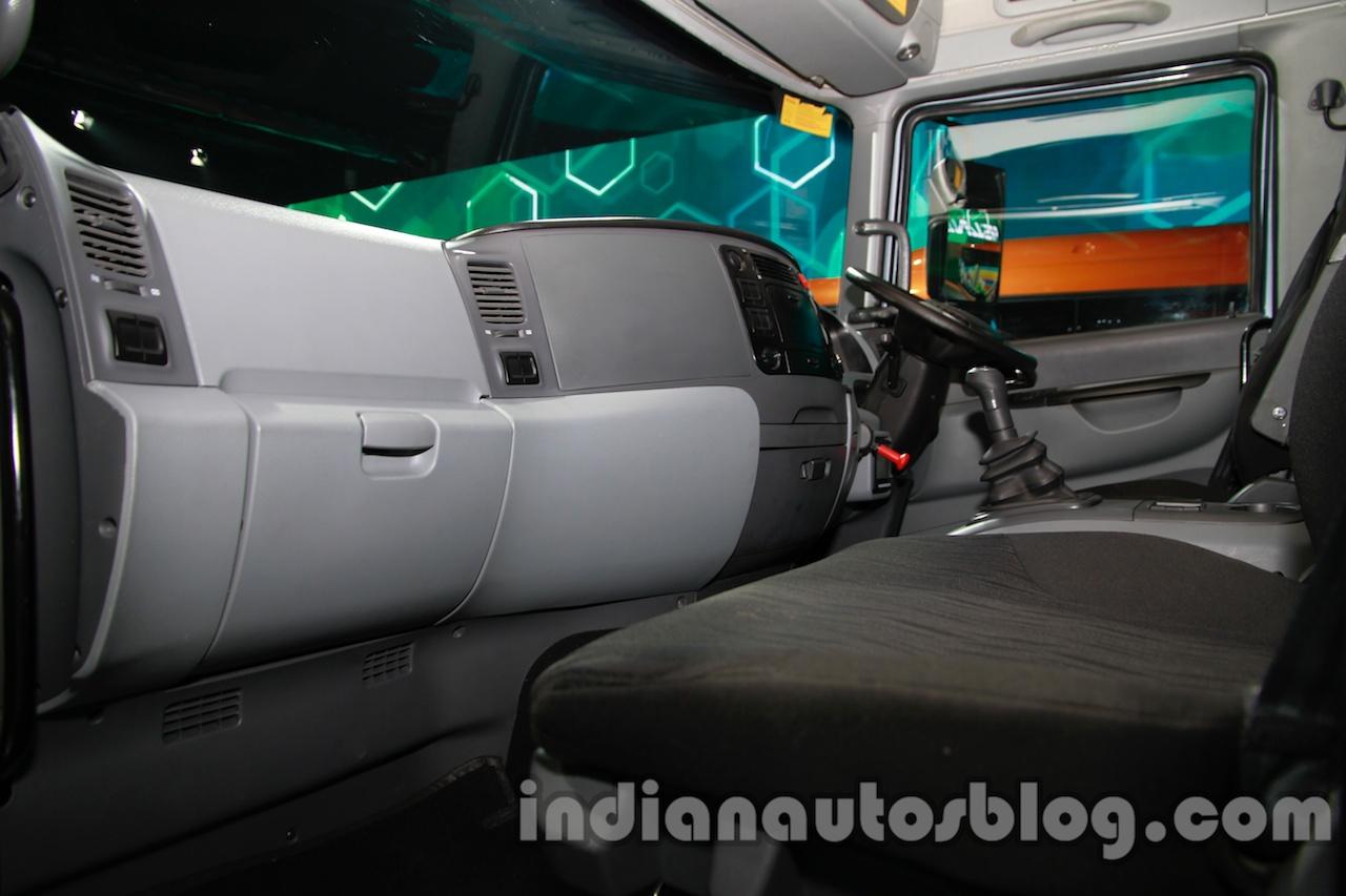 Tata Prima 4928.S interior at the 2015 Gaikindo Indonesia ...  |Tata Prima Bus Interior