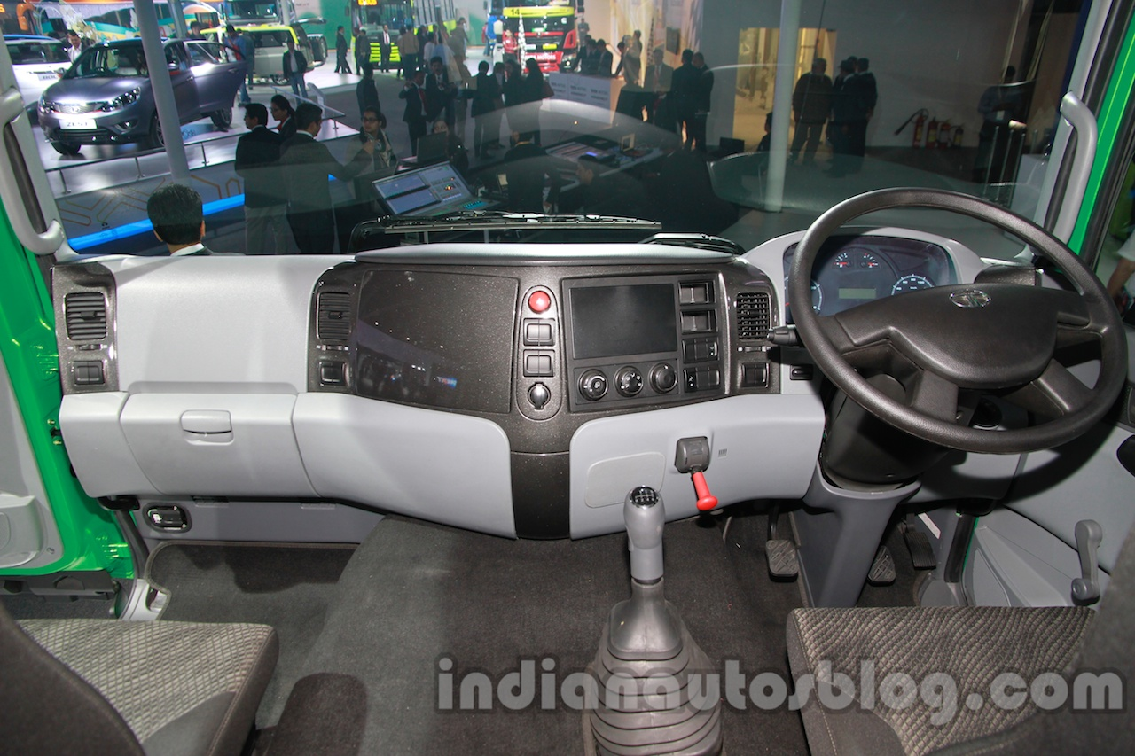Tata Prima CX 1618 dashboard view