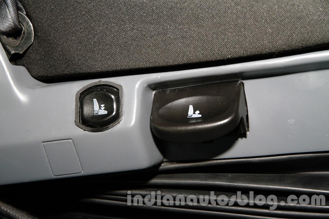 Tata Prima CX 1618 driver seat adjustment