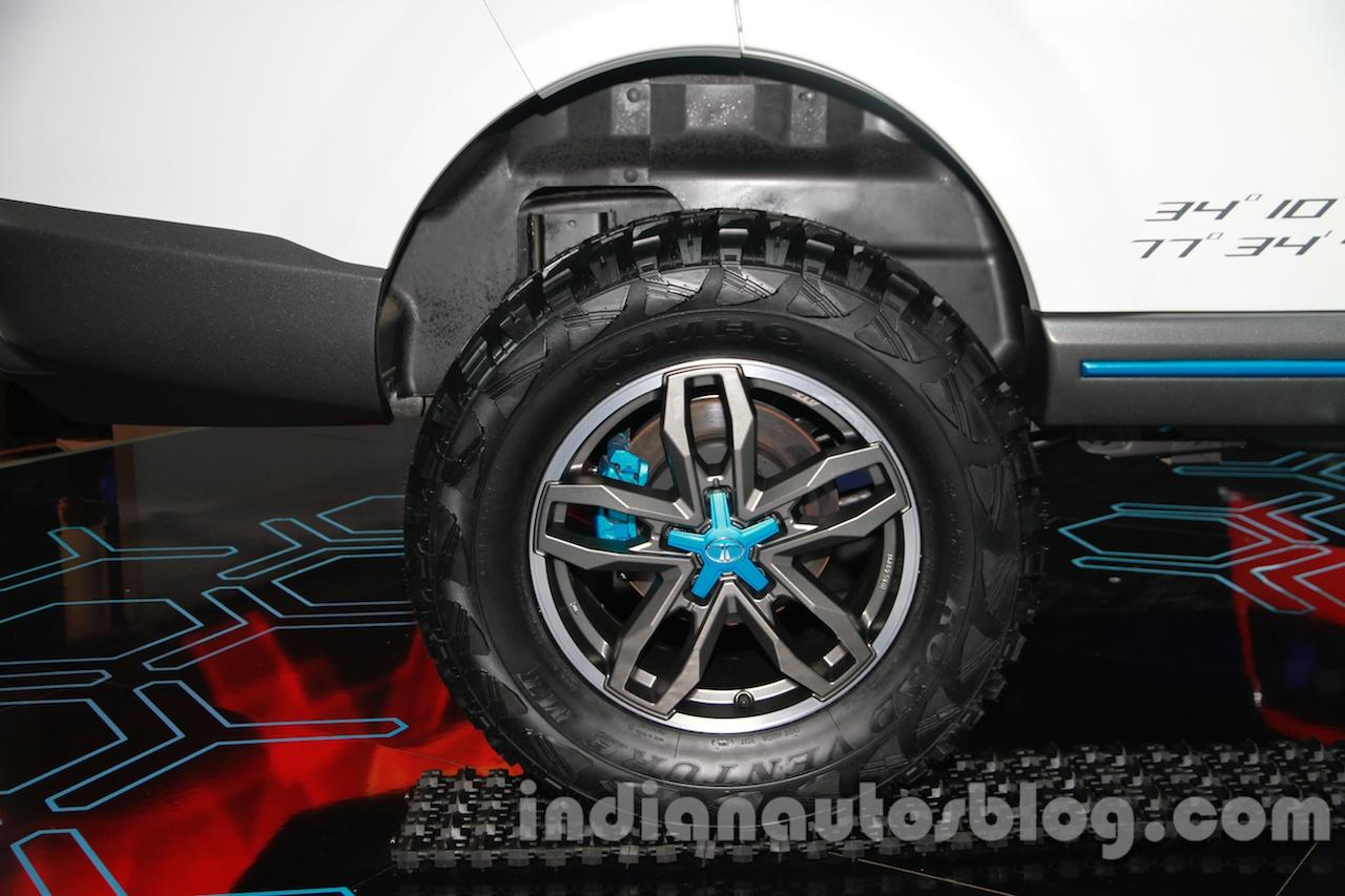 Tata Safari Storme Ladakh Concept multi terrain tires
