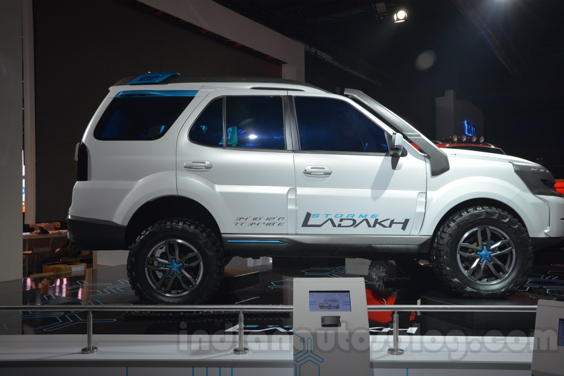 Tata Safari Storme Ladakh Concept side view