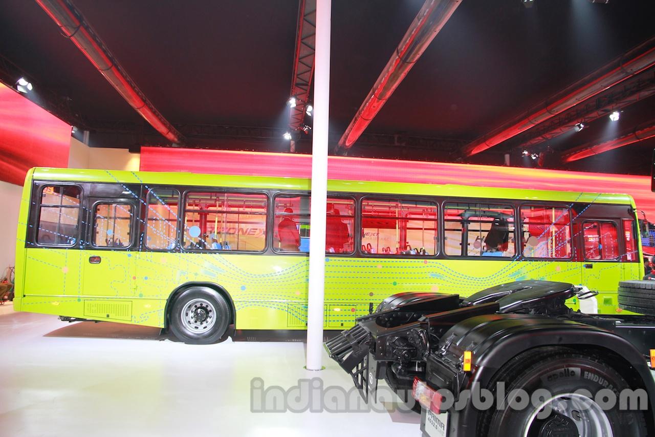 Tata Starbus Urban hybrid side