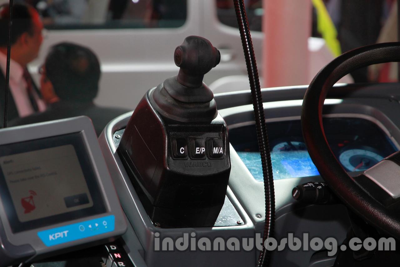 Tata Starbus Urban hybrid lever