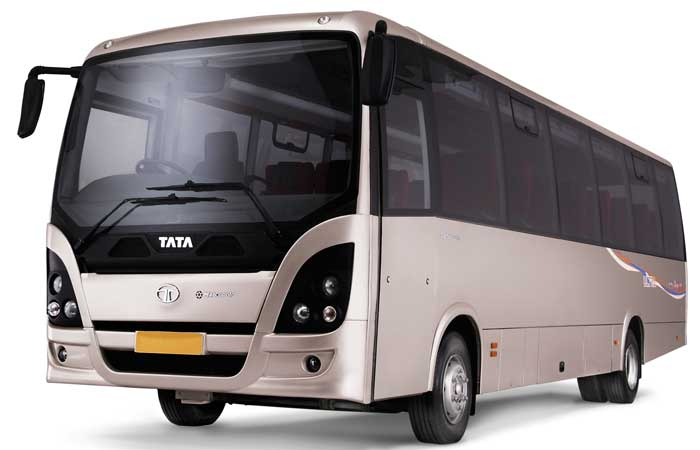 Tata Starbus front press shot