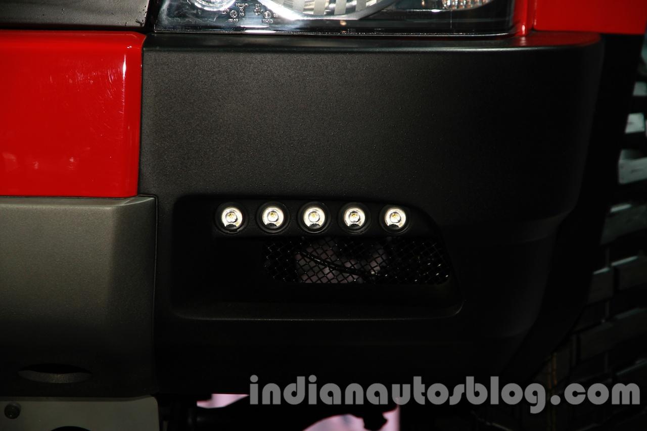 Tata Sumo Extreme LED lights
