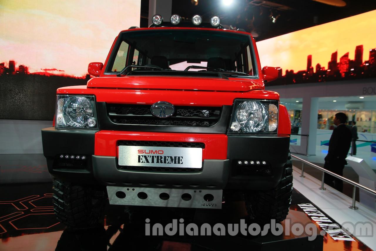 Tata Sumo Extreme front fascia