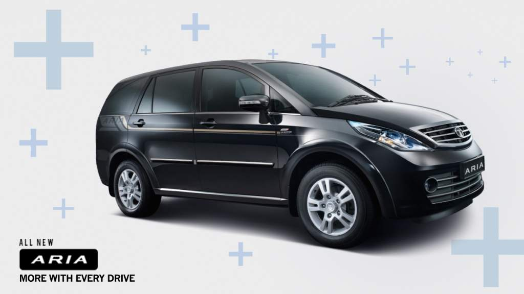 2014 Tata Aria press shot