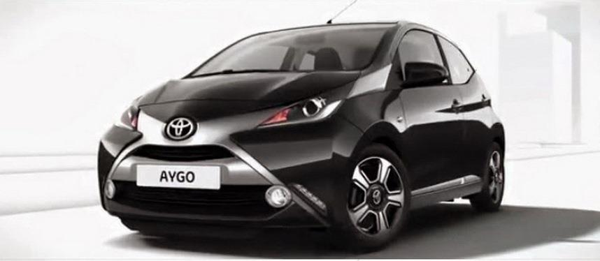 2014 Toyota Aygo front leaked official image