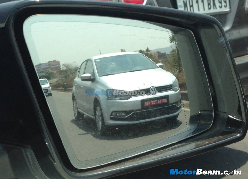 2014 VW Polo facelift GT TDI spied front