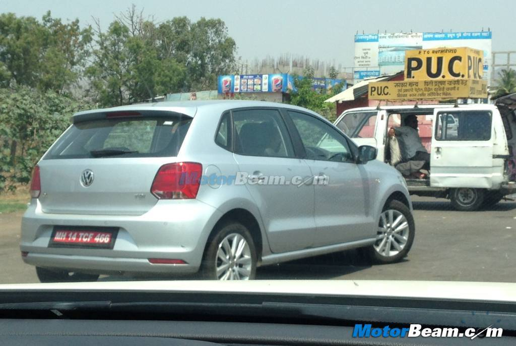 2014 VW Polo facelift GT TDI spied