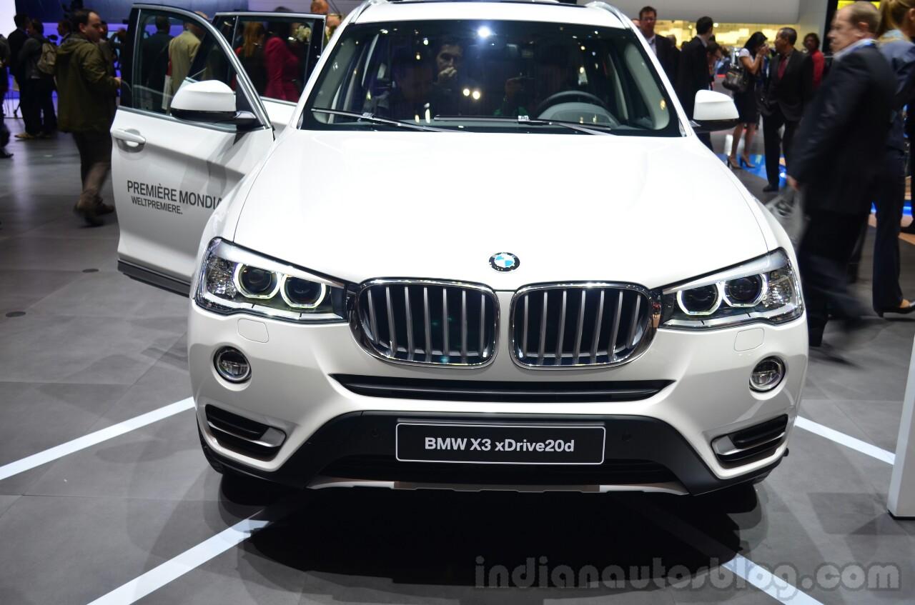 2015 BMW X3 Front   Geneva Live