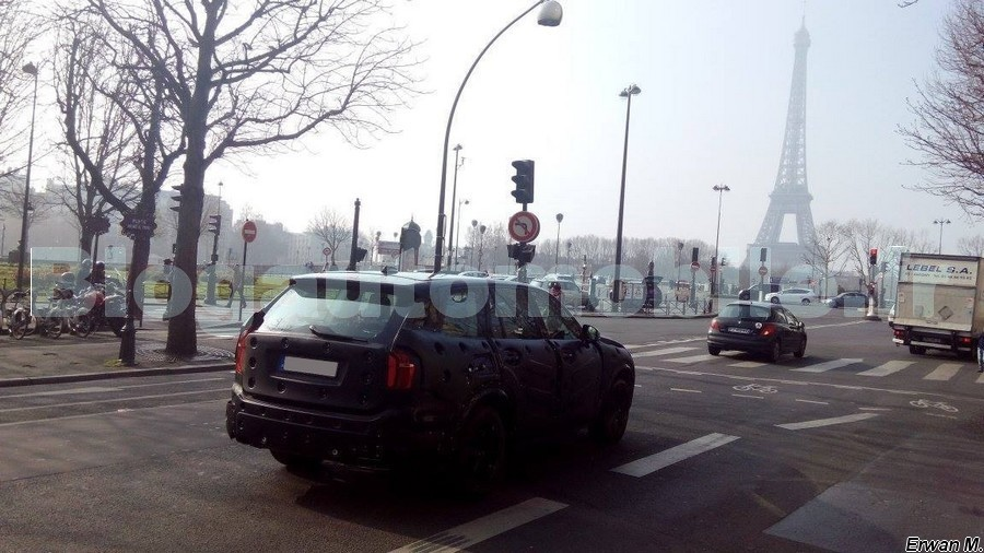 2015 Volvo XC90 spotted testing in Paris