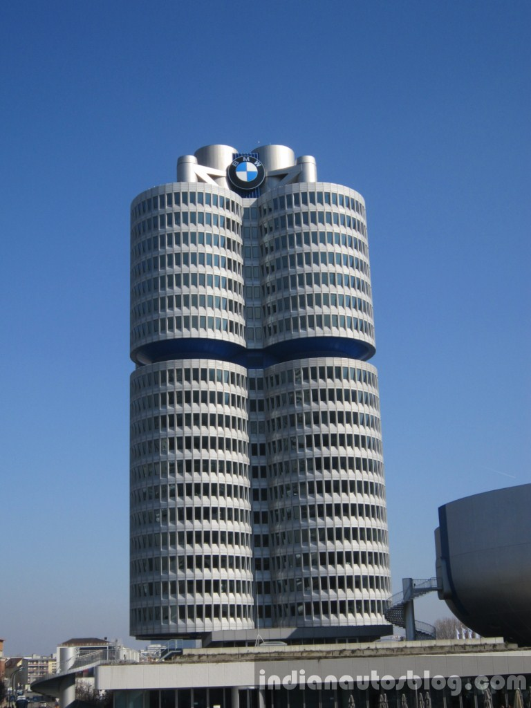 Bmw Headquarters The Four Cylinder Building