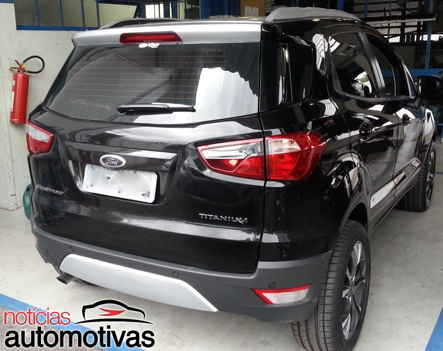 Ford Ecosport Owner Gets Rid Of The Exposed Spare Wheel