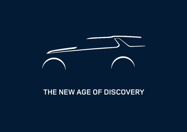 Land Rover new age of Discovery press shot