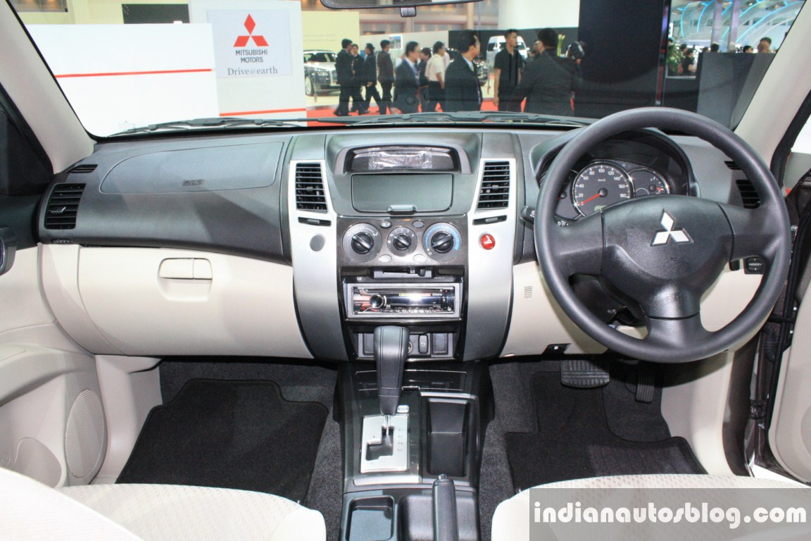 India Bound Mitsubishi Pajero Sport At Showcased At Bangkok