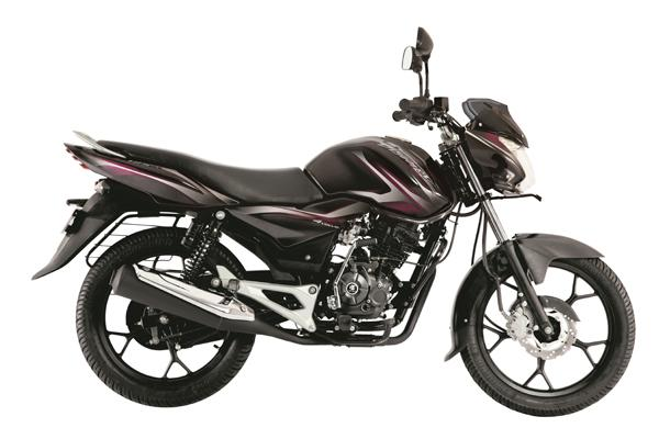 New Bajaj Discover 125 Side press shot