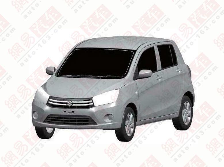 Suzuki Celerio Chinese patent leak front