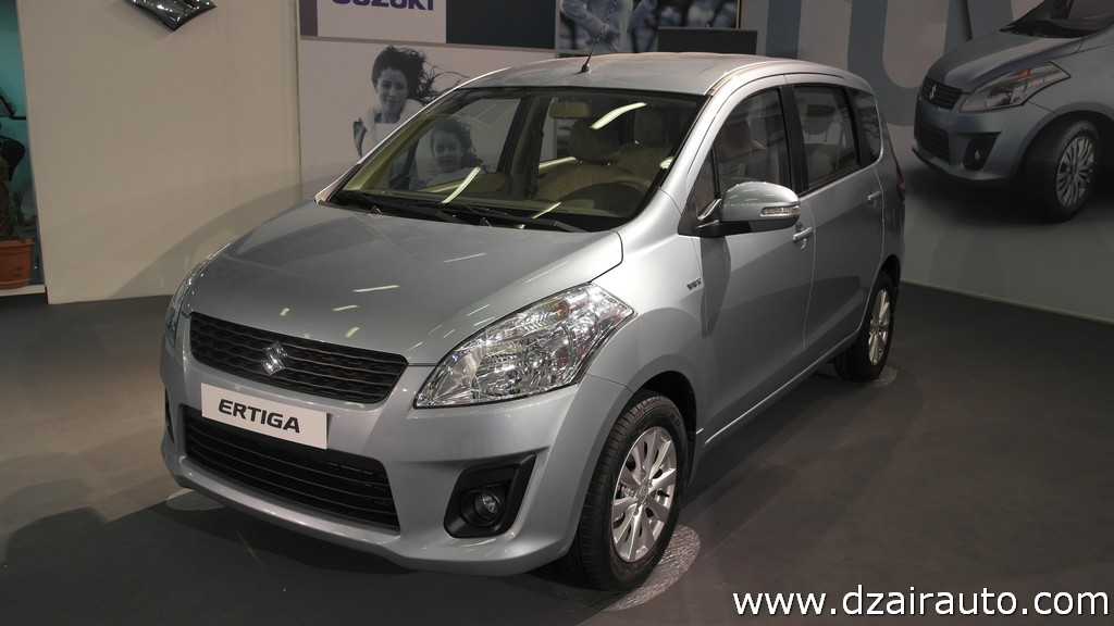 Suzuki Ertiga LHD Algeria front quarter