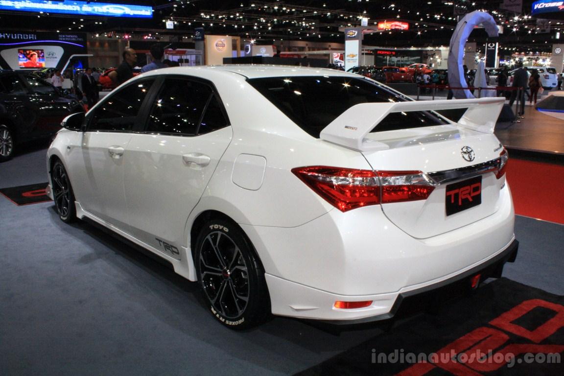 Toyota Corolla Altis Trd Sportivo Rear Three Quarters At