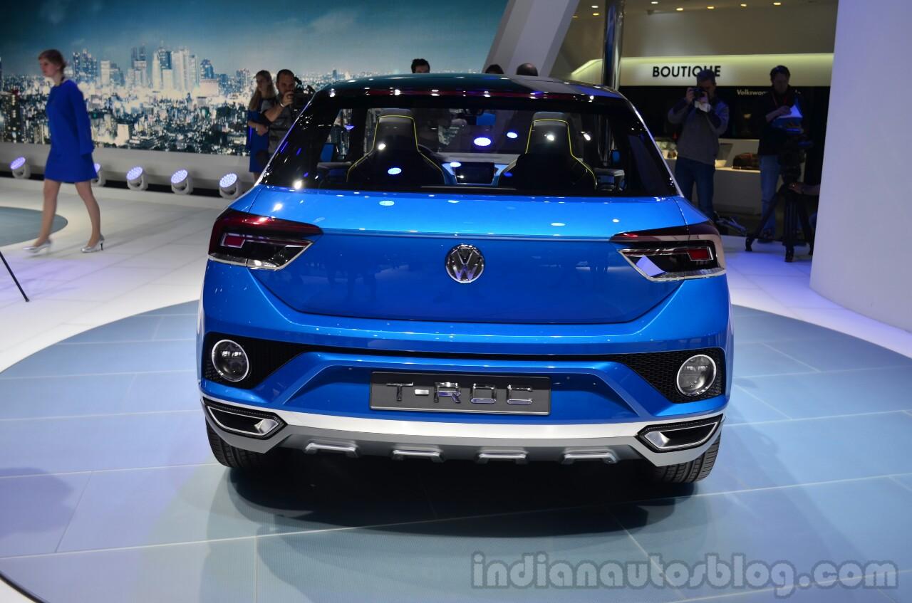 VW T-ROC Concept rear at Geneva Motor Show
