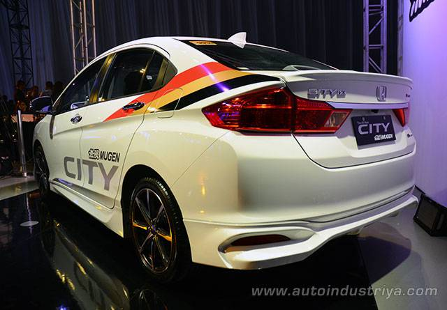 2014 Honda City Mugen edition rear quarter