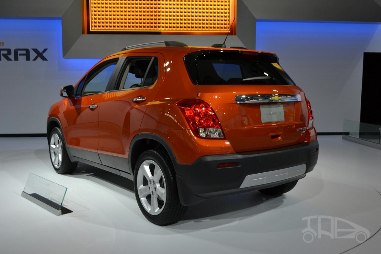 2015 Chevrolet Trax at 2014 New York Auto Show - rear three quarter