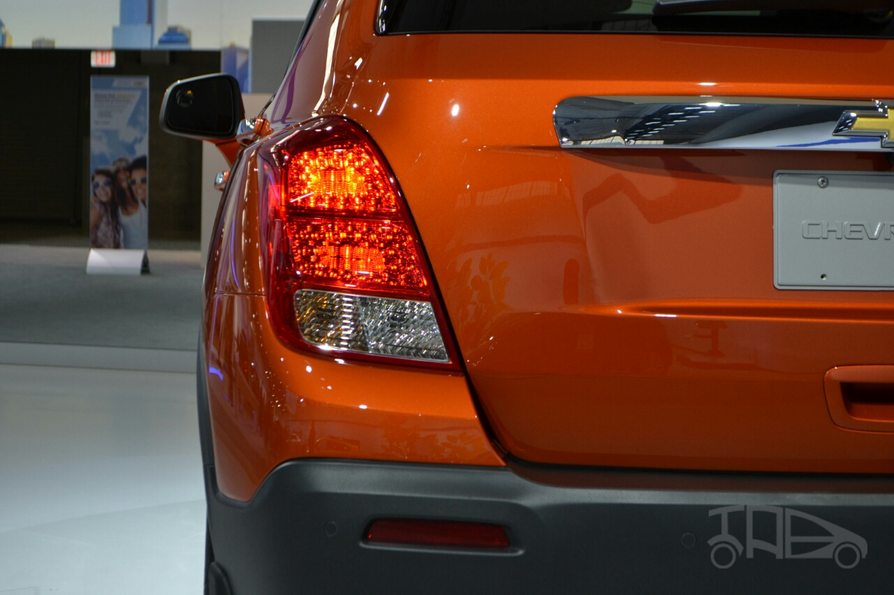 2015 Chevrolet Trax at 2014 New York Auto Show - taillight
