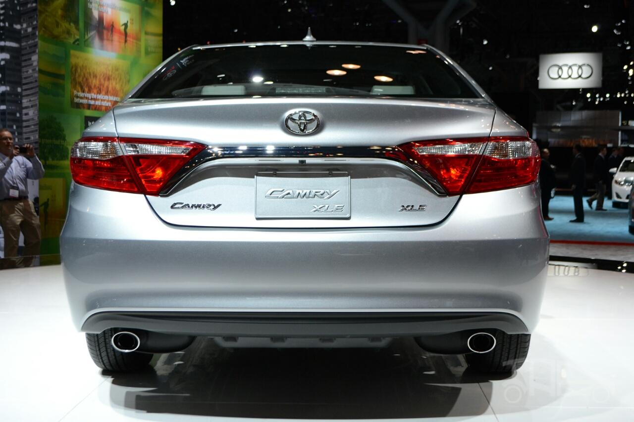 2015 Toyota Camry at 2014 NY Auto Show rear