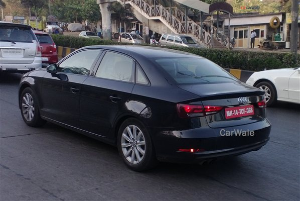 Spied - Audi A3 sedan spotted in Mumbai less than four months from