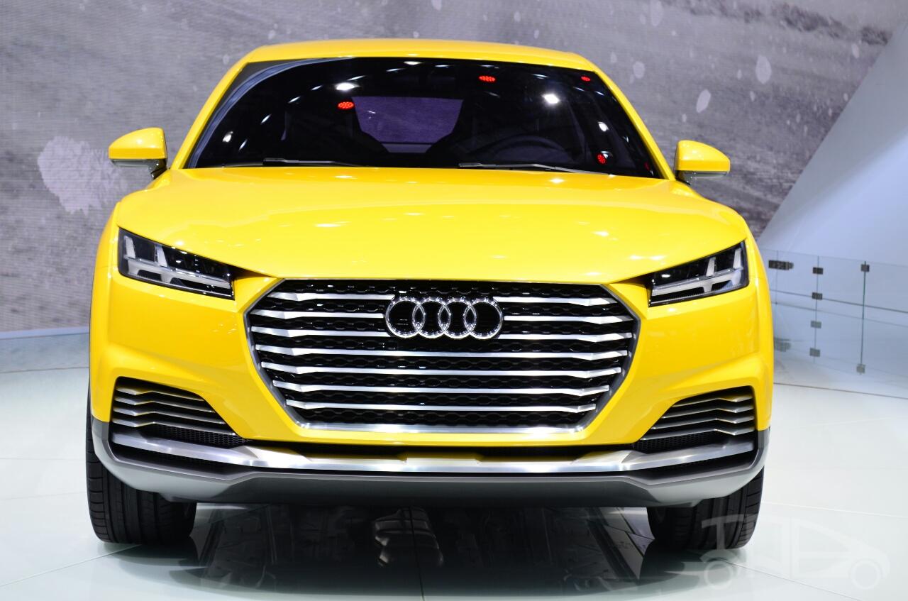 Audi TT Offroad Concept front