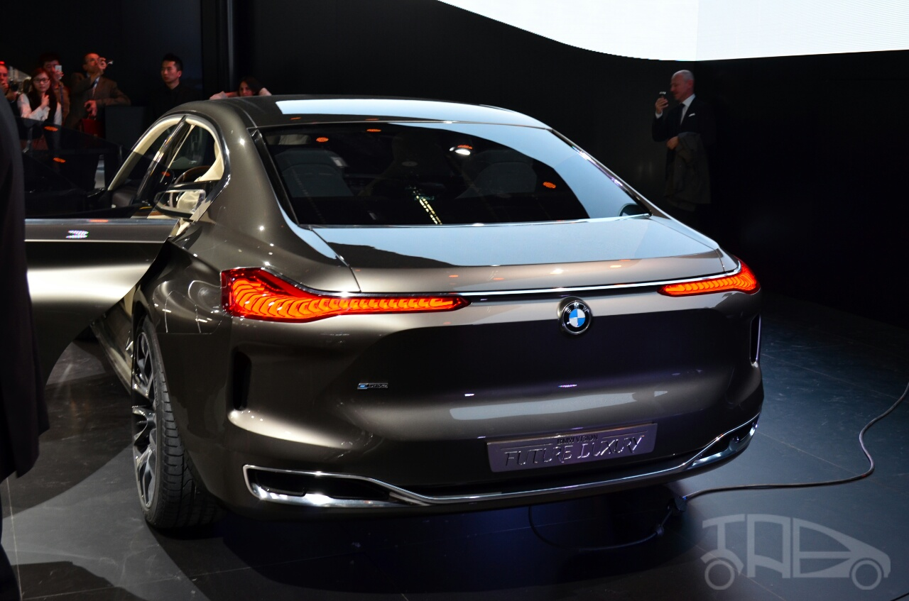 BMW Vision Future Luxury Concept rear at Auto China 2014