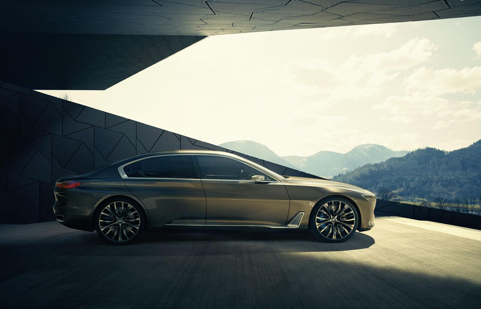 BMW Vision Future Luxury concept press image
