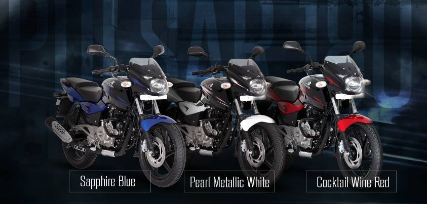 Bajaj Pulsar 180 new colors