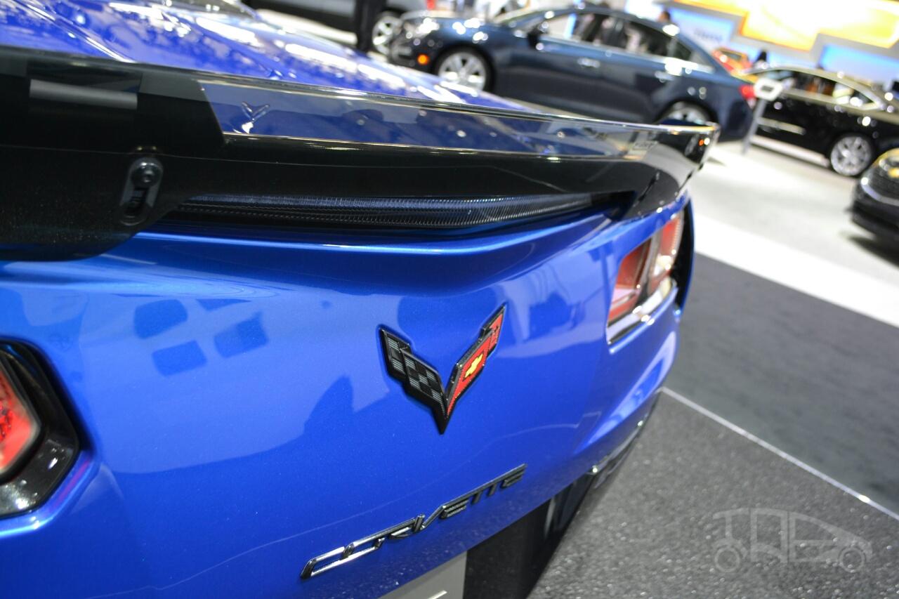 Chevrolet Corvette Z06 Convertible at 2014 New York Auto Show - spoiler