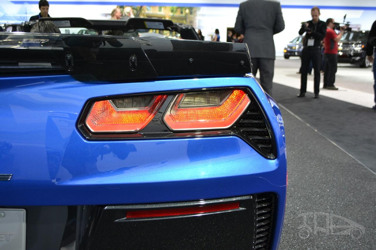 Chevrolet Corvette Z06 Convertible at 2014 New York Auto Show - taillight