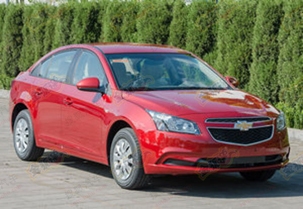 Chevrolet Cruze facelift for China front