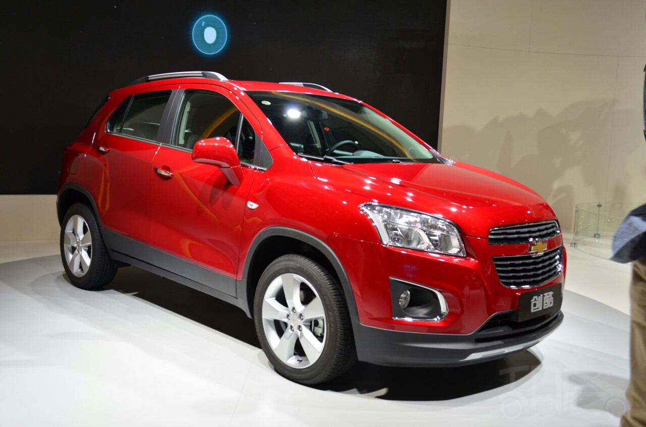Chevrolt Trax Changku at 2014 Beijing Auto Show - front three quarter profile