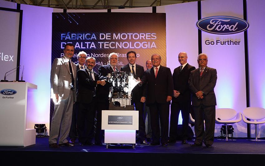 Ford Camacari Engine plant inauguration
