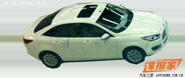 Ford Escort sedan production model spied