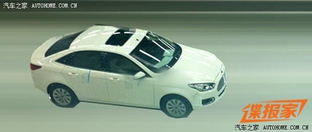 Ford Escort sedan production version spied