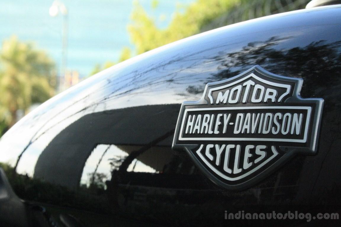 Harley Davidson Street 750 badge