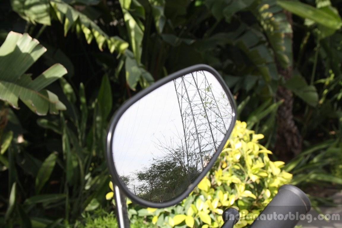 Harley Davidson Street 750 rear view mirror