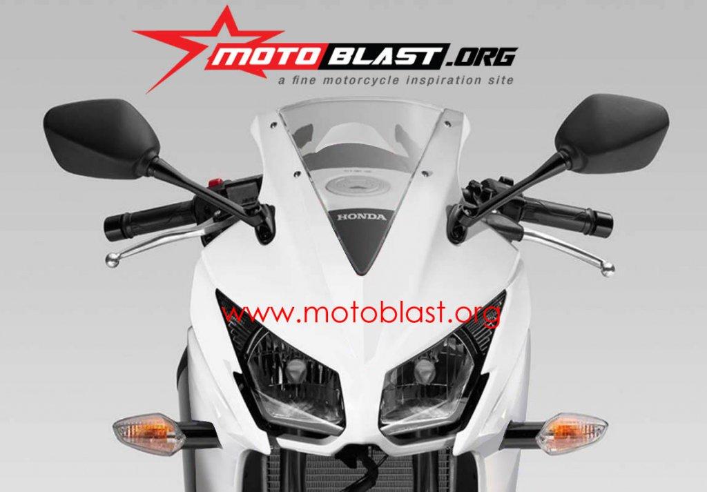 Honda CBR150R rendering front