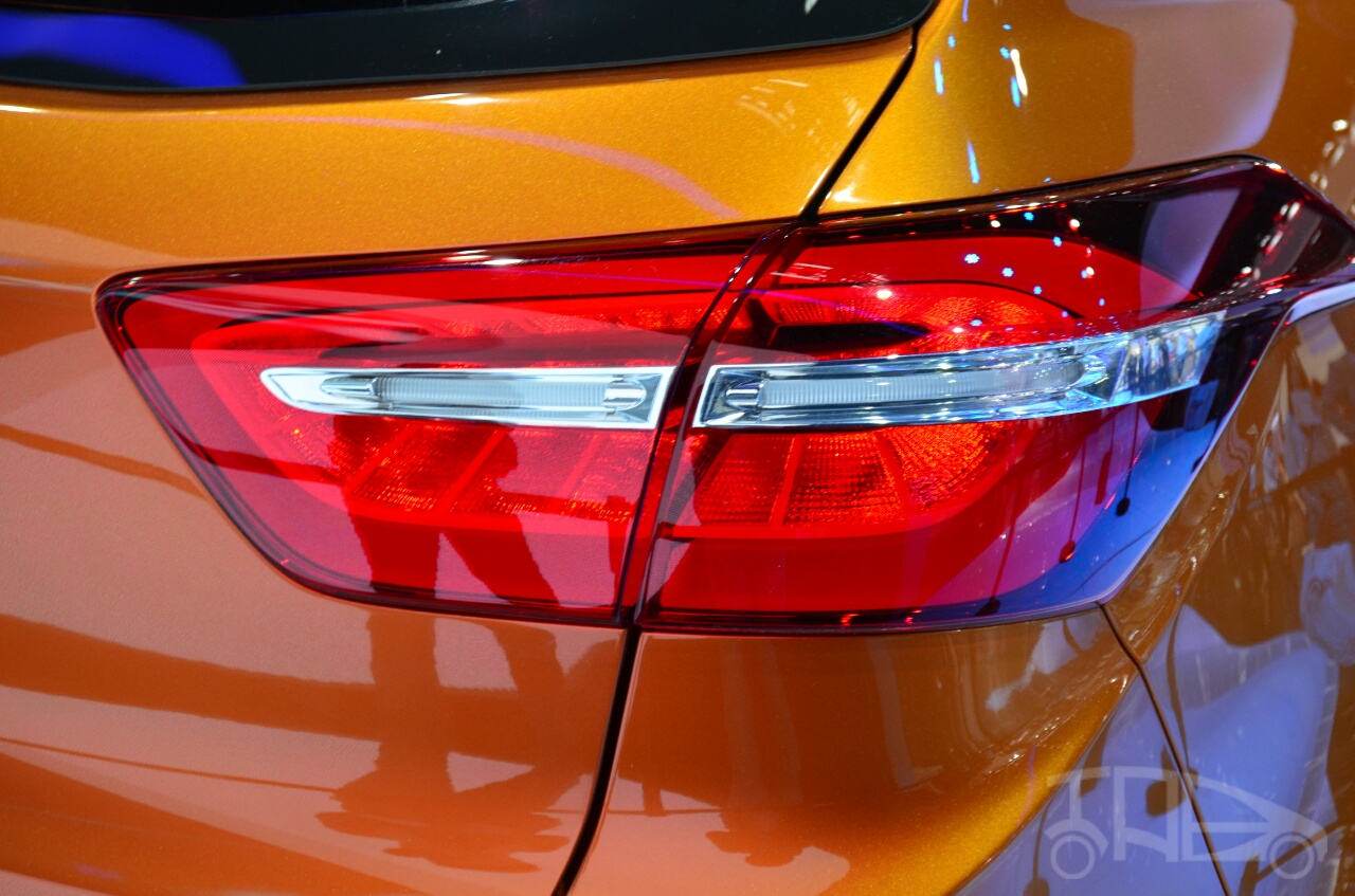 Hyundai ix25 taillight at Auto China 2014