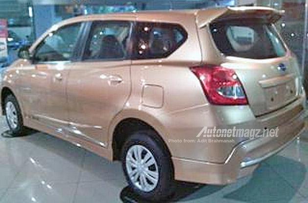 Indonesia Datsun Go+ Bodykit side angle