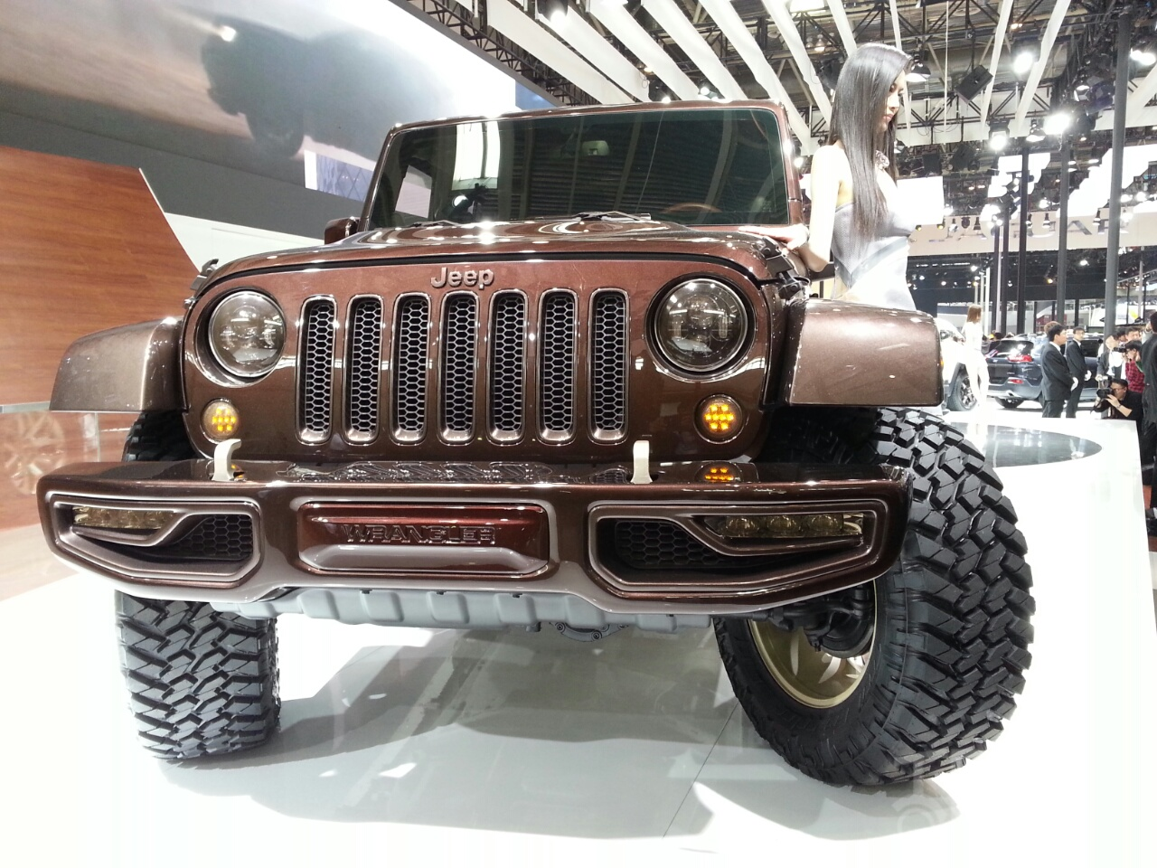 Jeep Wrangler Apollo Edition at 2014 Beijing Auto Show - front