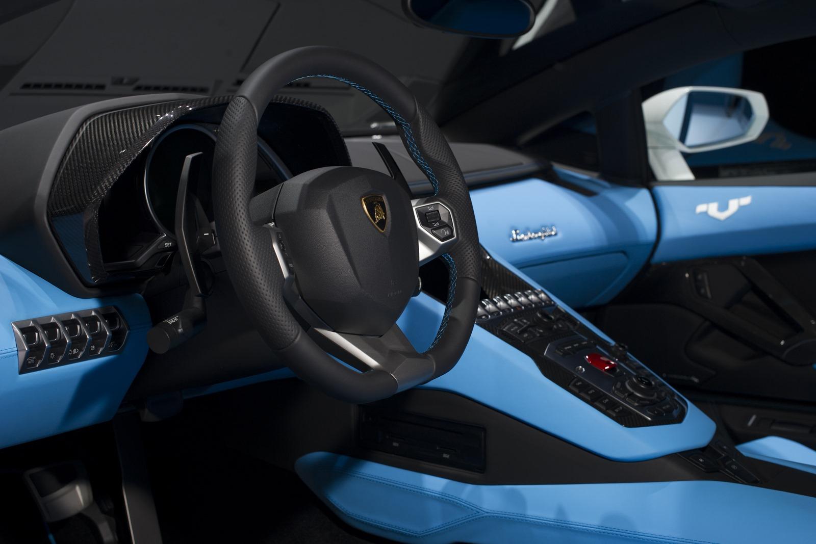 Lamborghini Aventador Nazionale interior Ad-Personam